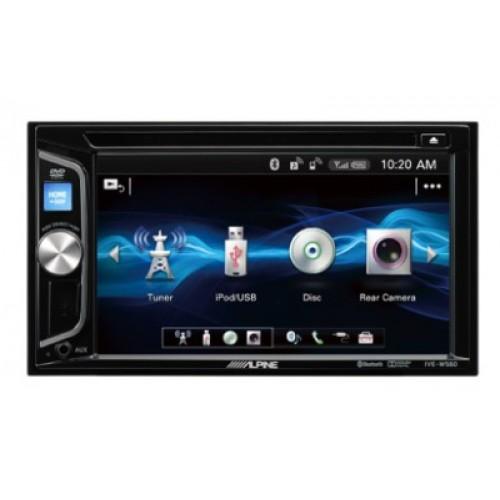"Alpine IVE-W560BT Multimediastation 6.1"" CD/DVD/USB/BT"