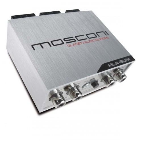 Mosconi HLA4 Pro Hög-lågnivåadapter 4-kanaler