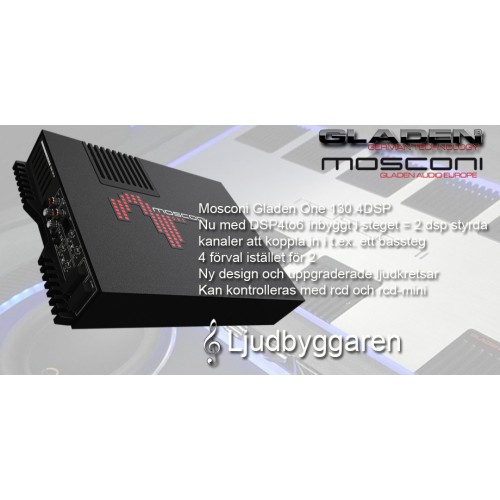 Mosconi Gladen One 130.4 DSP